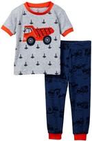 Petit Lem Dump Truck Pajama - 2-Piece Set (Baby Boys)
