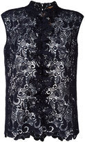 No.21 sleeveless lace blouse - women - Polyester - 40