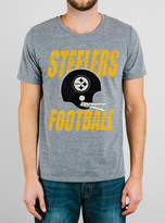 Junk Food Clothing Nfl Pittsburgh Steelers Tee-steel-l