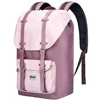 """Laptop Outdoor Backpack - Travel Hiking Camping Rucksack Casual College School Daypack Fits 15"""""""