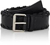 Balenciaga Men's Classic Belt-BLACK