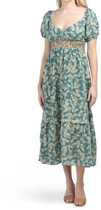 Ellie Printed Maxi Dress
