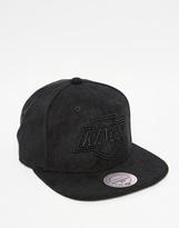 Mitchell & Ness Balance La Kings Snapback Cap - Black