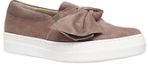 KG by Kurt Geiger Little Bow Slip On Trainers
