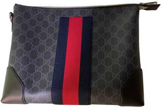 Gucci Black Cloth Bags