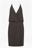 French Connection Enid Jersey Strappy Studded Dress