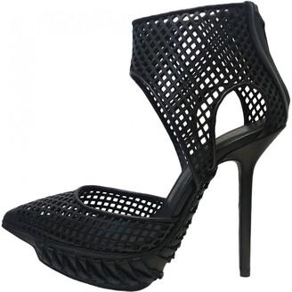 Haider Ackermann Black Leather Heels