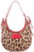 Kate Spade Nylon Leather-Trimmed Shoulder Bag