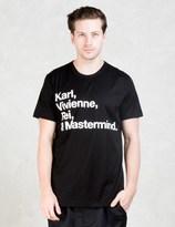 Mastermind Japan Karl Vivienne Rei Mastermind T-Shirt
