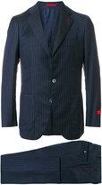Isaia pinstripe suit