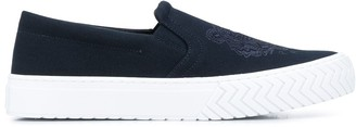 Kenzo Tiger slip-on sneakers