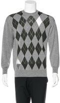 Alexander Wang Argyle Wool Sweater