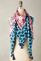 Anthropologie Dusk & Dawn Square Scarf