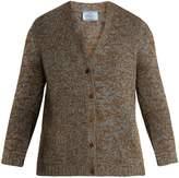 Prada V-neck cashmere-knit cardigan
