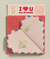Abrams Books I Heart You: 2 Fill-In Books (1 for You, 1 for Me)