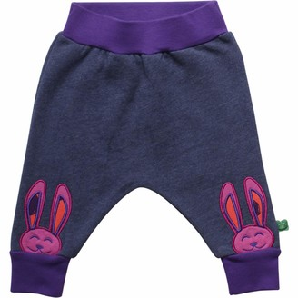 Green Cotton Fred's World by Baby Girls' Circus Sweat Pant Trouser