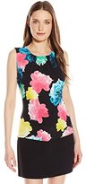 Calvin Klein Women's Printed Pleat Neck Cami