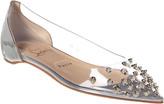 Christian Louboutin Collaclou Patent & Pvc Ballet Flat