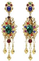 Ben-Amun Multicolor Clip-On Drop Earrings