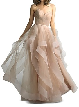 Basix II Strapless Ball Gown