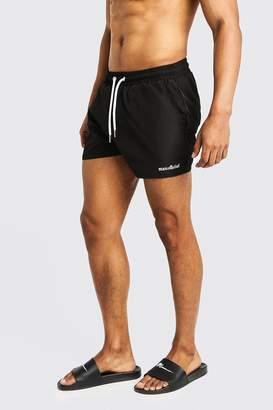 boohoo MAN Official Short Length Swim Short