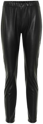 Max Mara Leisure Ranghi faux leather leggings