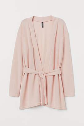 H&M Cardigan with Tie Belt - Pink