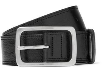 Dries Van Noten 4.5cm Black Leather Belt