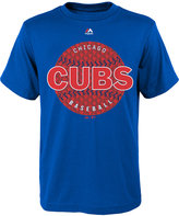 Majestic Boys' Chicago Cubs Electric Ball T-Shirt
