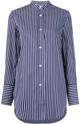 Aspesi Printed Stripe Shirt