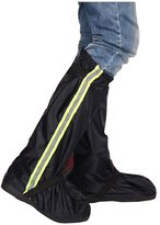 East Majik Black Waterproof Rain Boot Shoe Covers