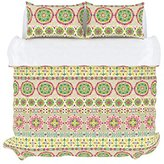 Style Master Stylemaster Home Products Colorfly Bliss 210 Thread Count Duvet Cover Set, King, Peony