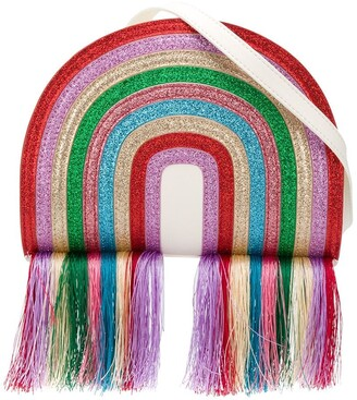 Stella McCartney Glitter Rainbow Shoulder Bag