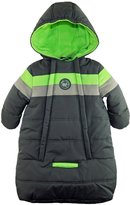 iXtreme Baby Boys Snowsuit Colorblock Stripes Puffer Carbag