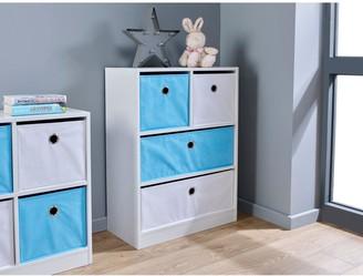 Lloyd Pascal Cube 2+ 2 KidsStorage Unit - Blue/White