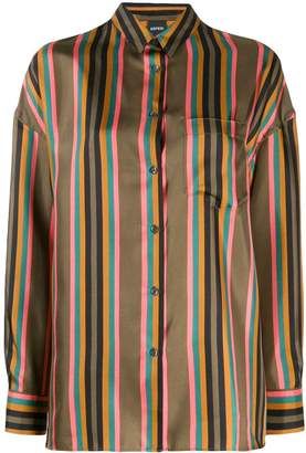 Aspesi vertical striped shirt