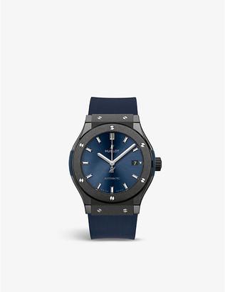 Hublot 511.CM.7170.LR Classic Fusion Ceramic Blue watch