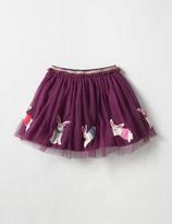 Boden Appliqué Party Skirt