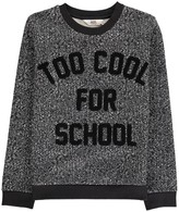 Little Eleven Paris Too Cool For School Pool Sweatshirt