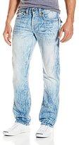 True Religion Men's Ricky Flap Pocket Relaxed Straight Super-T Jean
