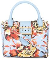 Burberry floral print tote