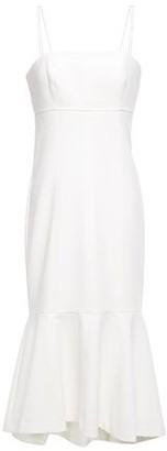 Cinq à Sept Salina Fluted Crepe Midi Dress