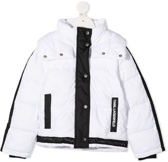 Karl Lagerfeld Paris Puffer Coat