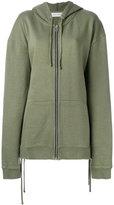 Faith Connexion oversized zipped hoodie - women - Cotton - S