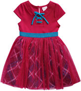 Youngland Young Land Short Sleeve Tutu Dress - Toddler Girls