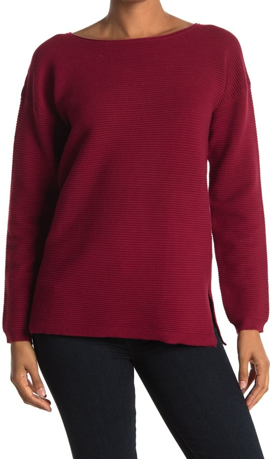 Cyrus Ribbed Long Sleeve Pullover