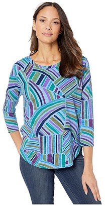 Fresh Produce Sundrenched Catalina Top (Bayside Blue) Women's Clothing