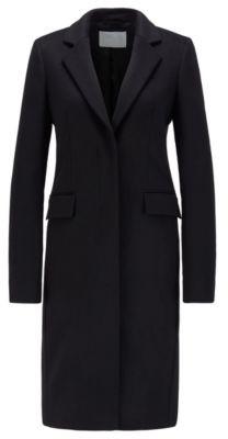 HUGO BOSS Formal coat in Italian virgin wool with cashmere