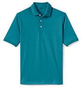 Lands' End Men's Supima Polo Shirt-Rich Aqua