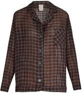 MORPHO + LUNA Cara cotton and silk-blend pyjama shirt
